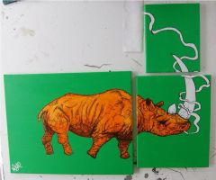 rhino smoker by mikedestructive