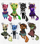 Final adoptables auction (closed) by Leerer-Raum