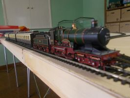 Great Western Edwardian train by FFDP-Neko