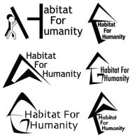 Habitat for Humanity Logos by grace2design