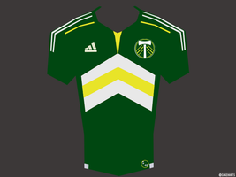 Portland Timbers MLS Jersey by caseharts