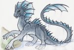 Radon The Water Dragon by shiverz