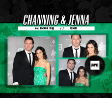 Photopack 10216 - Channing Tatum and Jenna Dewan by BestPhotopacksEverr