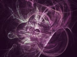 janmade purple backed fractal A by jannied