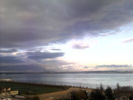 The Clouds and Me - The River Tejo 2008-10 by Kay-March
