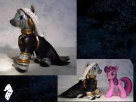 Nightmare Night Zecora Scuplt by Wolf--Shadow