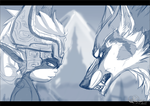 Hyrule's guardians - WIP by hecatehell