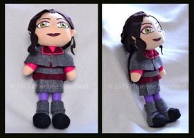Asami Plushie Commission by Xandyr