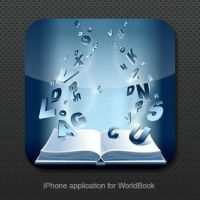 iPhone icons for WorldBook by st-valentin