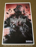 Zombie Darth Vader Special Edition by DoomCMYK