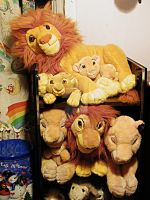 More Lion King Plush Pictures by toyjunkie1967