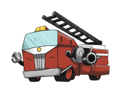 WHEN I GROWS UP, I WANTS TO BE FIRETRUCK by locomotive111