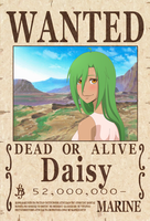 Daisy Wanted Poster by JellyPirate