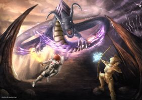 Boss Fight by cha4os