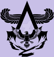 Dark Eagle Assassin Symbol by MehranPersia