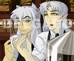 Barista and Sommelier by TerriDelgado
