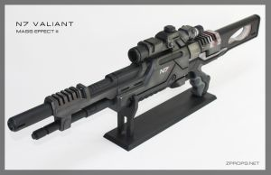 Mass Effect III N7 Valiant Sniper Rifle by zanderwitaz