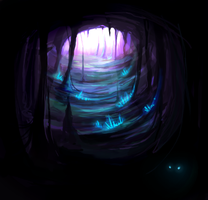 Cave by nesskafe