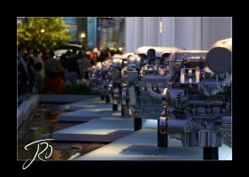 GM Engine Display by i64X