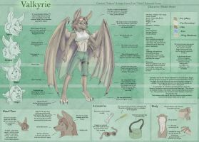 Valkyrie - Character Sheet by Ulario