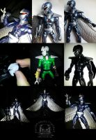 Marvel Legends Darkhark Custom Action Figure by ayelid