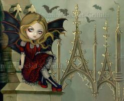 Bats in the Belfry by jasminetoad