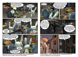 Sam and Max's Lost Comic - A Tribute by ItsumoCelestialSushi