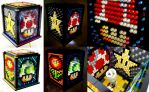 Mosaic LEGO Super Mario Bros. Lamp by VonBrunk