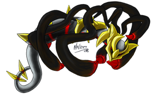 Origin Form :Giratina: by Nanasschevelu