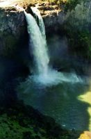 Snoqualmie Falls by afterthestars