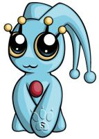 Manaphy Chibi by RedPawDesigns