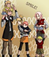 Smile - Uzumaki Family by NightLiight
