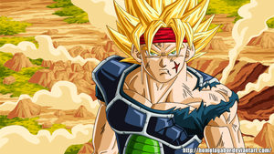 Bardock SSJ (animation) by HomolaGabor