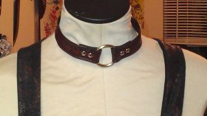 Leather Choker by StudioGruhnj