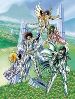 saint seiya by alecsultimate