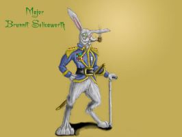 Major Brunnit Selicaworth by Jazon19
