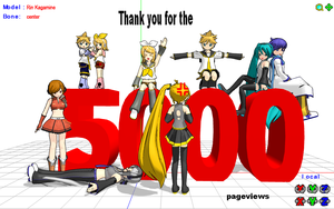 Thank you for 5000 pageviews by brsa