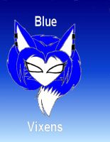 Blue Vixens Logo by foxtrot20