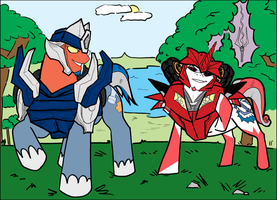 TFP- My Little Connies by chibigingi