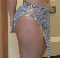 Chainmail Skirt 02 by Sparhawk718