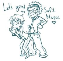 LETS GRIND TO SOFT MUSIC by SillySinz