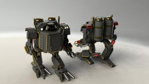 Steam mecha by SteamTank