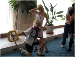 Roxas and Namine Cosplay by YokoAyane