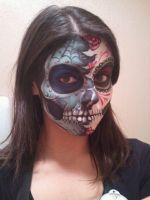 Two-faced Sugar Skull by Allizorr