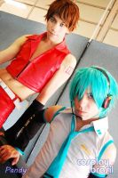 Meito and Mikuo by yuuShino
