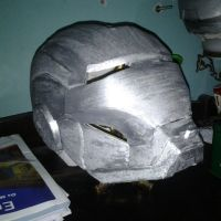 Ink Chroming Iron Helmet by IgorTodd