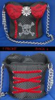 Pirate Girl Purse by Destiny-Carter