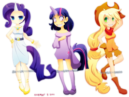 My little pony dangit by Sandette