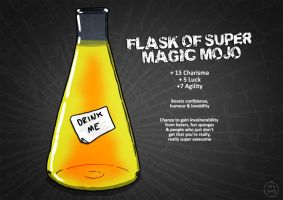 Flask of Super Magic Mojo by resresres