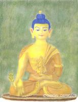 Medicine Buddha by Nameda